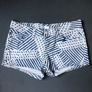 Unique Levi's Patterned Jean Shorts